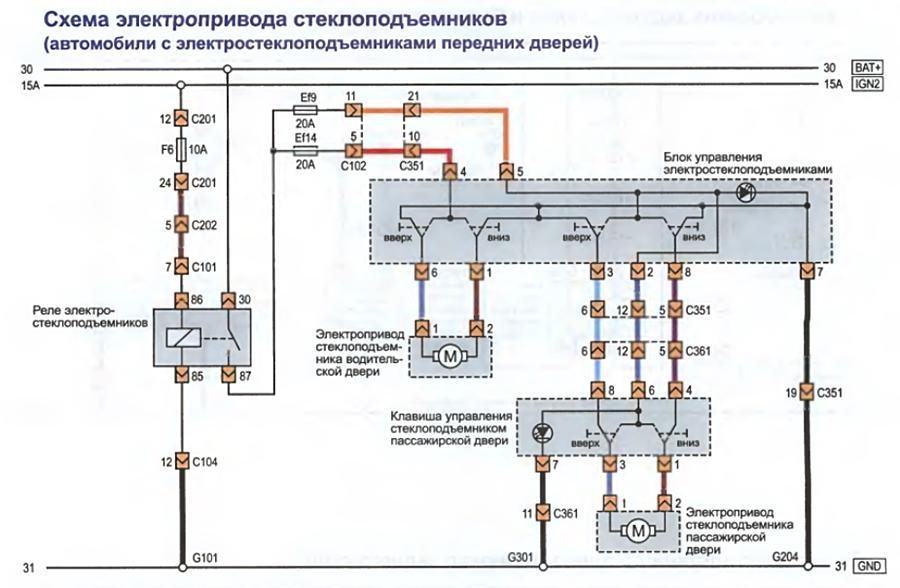 Схемы Лачетти на русском